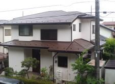 茨城県守谷市S様邸 外壁塗装・屋根カバー工事