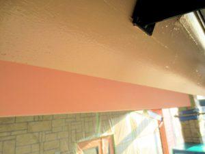 事務所破風板塗装後